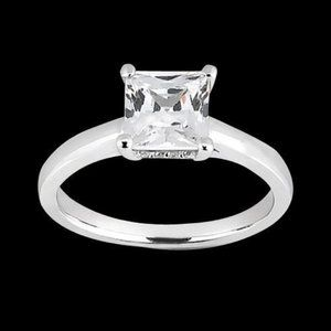 1.81 carat Princess cut diamond diamond engagement